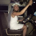 Emma - the lovely bride to be has a stagette and plays on the Hummingbird Pub Bus